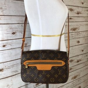 LOUIS VUITTON Saint Germain Monogram Crossbody